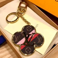 LV Tide brand car key ring pendant keychain