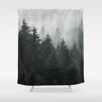 Waiting For Shower Curtain by Tordis Kayma | Society6