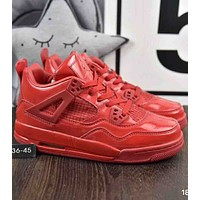 Nike Air Jordan GS Fire 2018 trendy men and women fashion sports running shoes F-A36H-MY Red