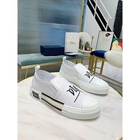dior fashion men womens casual running sport shoes sneakers slipper sandals high heels shoes 336