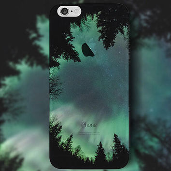 Cool Forest Night iPhone 5 5S iPhone 6 6S Plus Case + Nice Gift Box