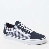 Vans Twill & Gingham Old Skool Shoes at PacSun.com