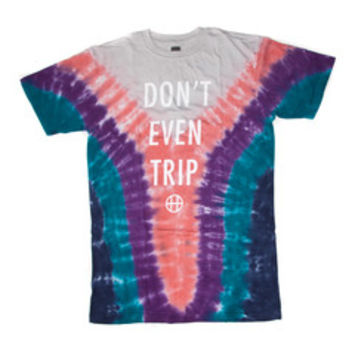HUF - DON'T EVEN TRIP TEE // DARK TEAL