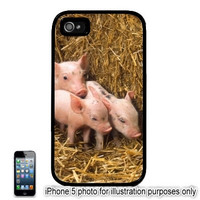 Piglets 3 Little Pigs Photo iPhone 5C 6 Plus case, 5 iPhone 4 Case, Ipod 4 5 Case, Ipad Mini Cover  4S 5S
