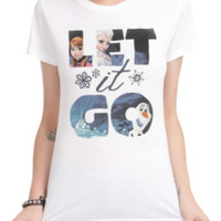 Disney Frozen Let It Go Fill Girls T-Shirt