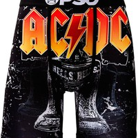 ONETOW PSD ACDC Hells Bells Boxer Briefs In Black