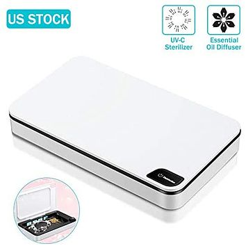 Portable Mobile UV Cellphone Sanitizer With Power Bank & Diffuser