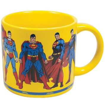 Superman Through the Years Mug - PRE-ORDER NOW, Ships Late October