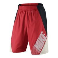 "Nike 11"" Flow Color-Blocked Men's Shorts - Light Crimson"