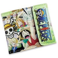 One Piece Luffy & Friends Short Style Anime Wallet