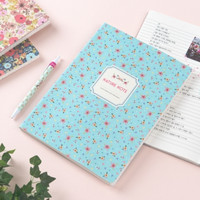 Large Nature Lined Notebook