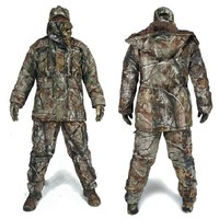 Men Winter Tactical Clothing Army Water Resistant Clothes 5PCS/Set Military Camouflage Outdoor Hunting Clothes