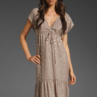 TT Gwyneth Maxi Dress in Taupe Print at Revolve Clothing - Free Shipping!