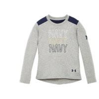 Under Armour Girls' Toddler Navy Long Sleeve
