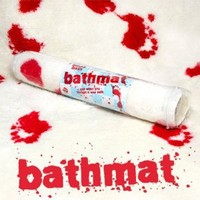 Psycho Bloody Bath Mat