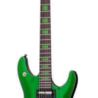 Schecter Signature Kenny Hickey Electric Guitar in Steele Green