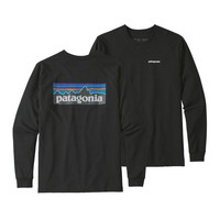 PATAGONIA MEN'S LONG-SLEEVED P-6 LOGO RESPONSIBILI-TEE®