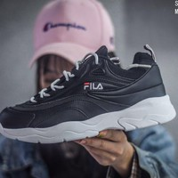 Trendsetter Fila Fht Tt Court Deluxe  Women Men Fashion Casual  Sneakers Sport Shoes