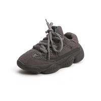 Fashion Yeezy Lace-Up Sneakers