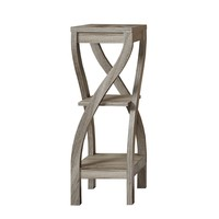 """Accent Table - 32""""H / Dark Taupe"""