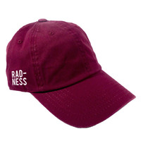 RADNESS DAD HAT - MAROON