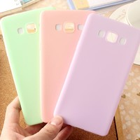 Candy Phone Case for Samsung Galaxy A5 A7 A3 2017 J1 J2 J3 J5 J7 2016 Grand Prime S8 S7 S6 Edge S5 Silicone tpu Soft Cases Cover