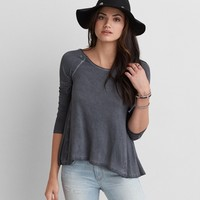 AEO SOFT & SEXY CROSS BACK T-SHIRT