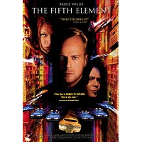 The Fifth Element 11x17 Movie Poster (1997)