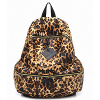 FASHION LEOPARD PRINT BACKPACK FOR WOMEN LADY GIRLS