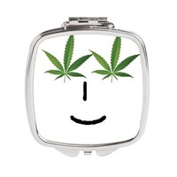 Pot Head Emote Square Compact Mirror> The Pot Head Emote> 420 Gear Stop