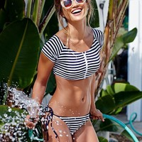 Swimsuit Beach Sexy Summer New Arrival Hot Hot Sale Swimwear Navy Bikini [9864014029]