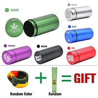 EQ Smell Proof Air Tight Weed Bud Container + Free Gifts