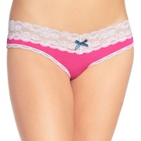 Women's Honeydew Intimates Lace Trim Low Rise Thong (3 for $30)