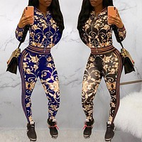 Fashion Hot-selling Printing Suit Printing Leisure Suit