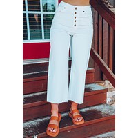 Chillin And Grillin Pants: White