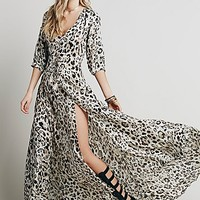 Spell Womens Wild One Gown - Leopard