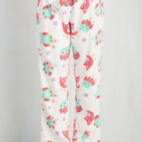Owls Fauna Friend Pajama Pants in Owls