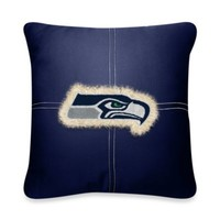 NFL Seattle Seahawks 18-Inch Letterman Toss Pillow