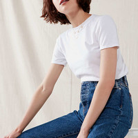 Urban Renewal Remade Dancing White Tee   Urban Outfitters