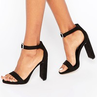 New Look | New Look Buckle Barely There Heel at ASOS