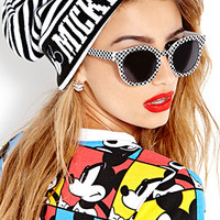 Standout Stripes Mickey Mouse Beanie