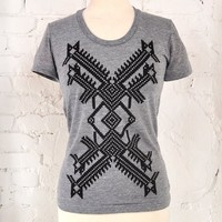 Supermarket - X Design Tri-Blend Women's Tee from maryink