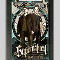 Supernatural Sam and Dean Winchester Poster 11x17