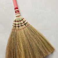 Pinkpop Hand Broom by Anthropologie in Medium Pink Size: One Size Office