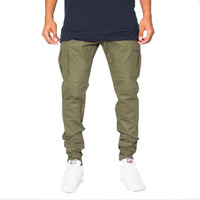 Golden Denim The Legend Cargo Pants In Olive
