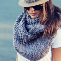 The Fable Knit Scarf in Taupe