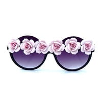 Pink Floral Sunnies