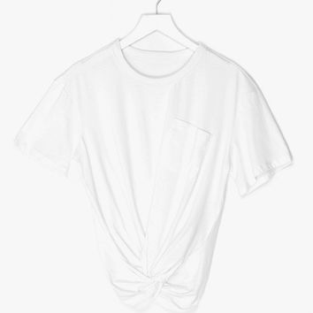 Casual Twist Cotton Top