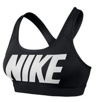 Nike Nike Pro Bra Black Logo - Womens Clothing