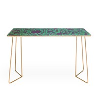 Nick Nelson Turquoise Synapses Desk